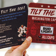 Caps Launch Augmented Reality Game, Tilt The Ice, Presented by Bud Light | NHL.com