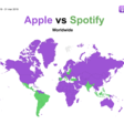 Spotify is growing on podcast listening, now the leader in India and Spain