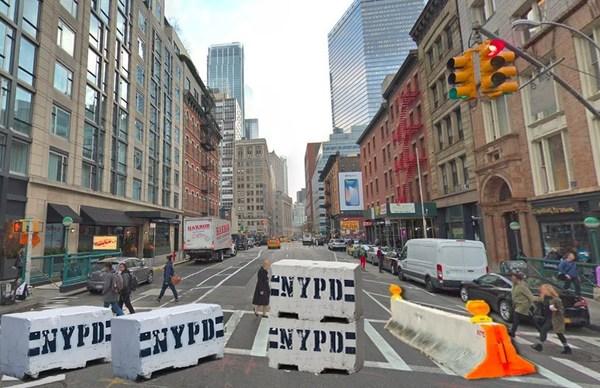 De Blasio To Announce Car-Free Lower Manhattan Today!