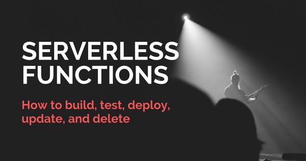 Serverless Functions in Depth – A Cloud Guru