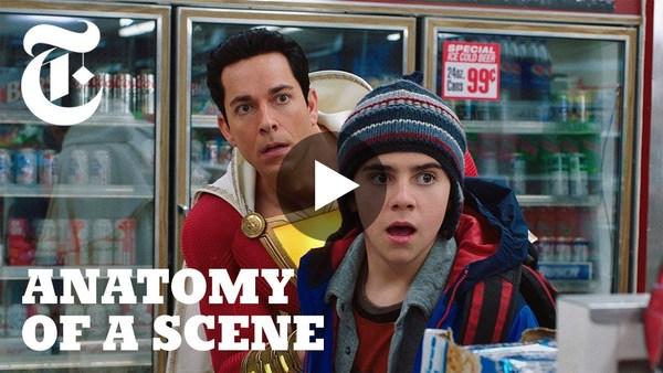 Watch Zachary Levi Discover Superpowers in 'Shazam!' | Anatomy of a Scene