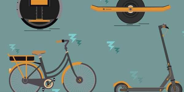 Hoverboard, trottinette, vélo électrique: qui peut rouler où?