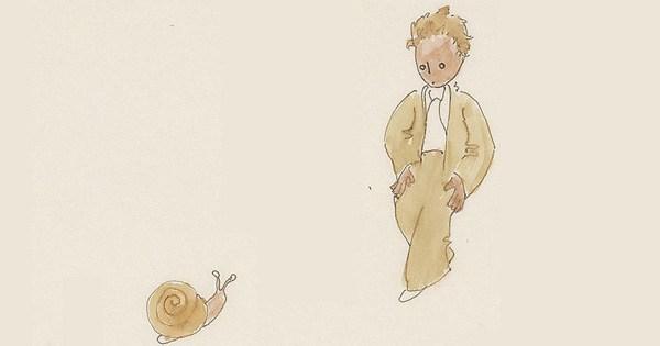 """Hier sind Antoine de Saint-Exupéry's Original-Zeichnungen für """"Der kleine Prinz"""""""