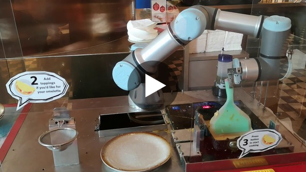 How i cook my eggs in Singapore | Robot