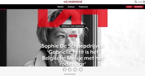 Hoofdredacteur Vrij Nederland wil verder zonder redactie - NRC