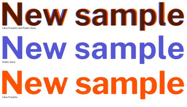 Die USA haben eine neue kostenlose Schrift entwickelt, die jeder nutzen kann