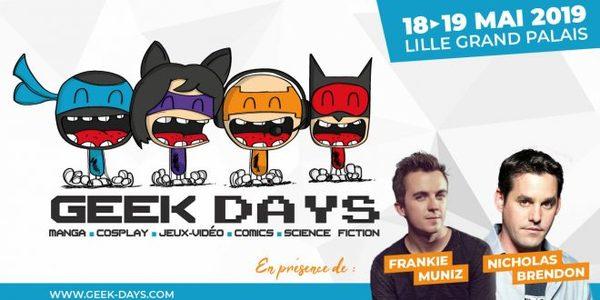Geek Days à Lille Grand Palais - Geek Days in Grand Palais in Rijsel