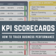 Build Up Your Performance With KPI Scorecards – Examples & Templates