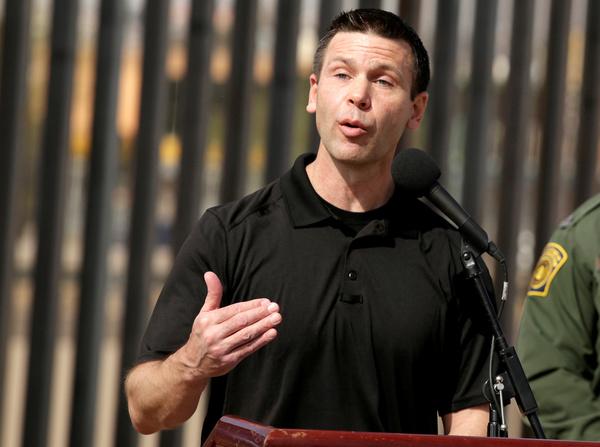 Kevin McAleenan is aangesteld als tijdelijke opvolger van Nielsen (foto: Reuters)