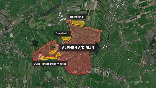 Eerste stap richting bouwen in polder tussen Alphen en Woubrugge