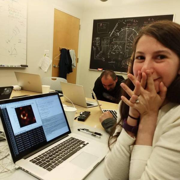 Meet Dr. Katie Bouman, One Woman Who Helped Make the World's First Image of a Black Hole