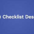 ✅ Checklist Design