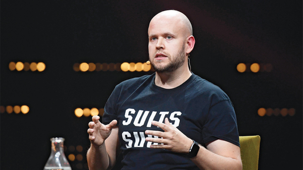 Spotify's Daniel Ek: 'I was never a disrupter'