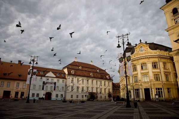 Sibiu in Roemenië