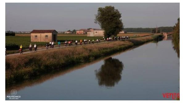 'Vento Bici Tour', due weekend in sella lungo la valle del Po tra emozioni e colori
