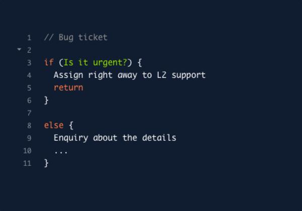 code2flow'ta diyagramları kod yazar gibi oluşturuyorsunuz (if else ve while gibi statement'larla...)