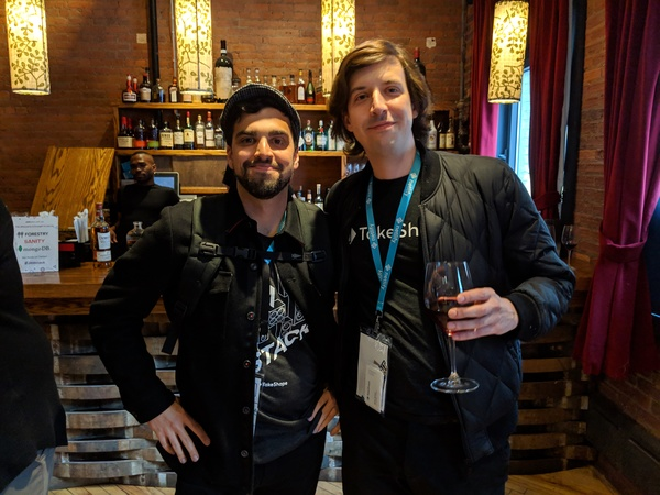 JAMstack Conf 2019 - Mark Catalano and Andrew Sprouse