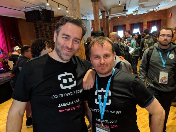 JAMstack Conf 2019 - Filippo Conforti and Massimo Scardellato