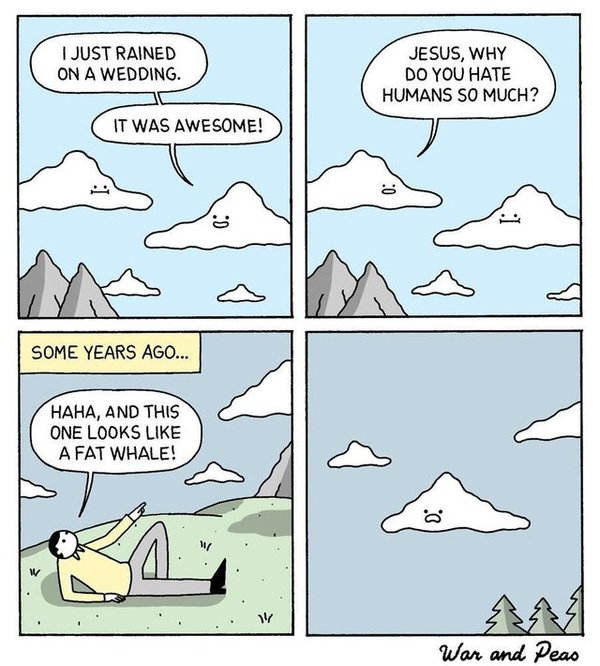 Revenge of the Clouds - Credit: War and Peas