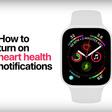 Apple komt met nieuwe Apple Watch Series 4 tutorials die mogelijk je leven kunnen redden - WANT