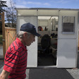 A municipality uses disaster shelters for the homeless