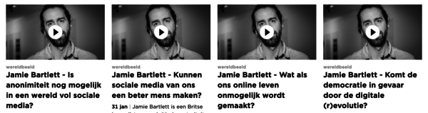 Als je meer wil weten over Bartlett, vind je op Canvas.be een paar korte filmpjes.