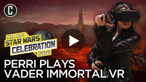 Star Wars Celebration gives the stage to Vader: Immortal — and it looks fabulous.