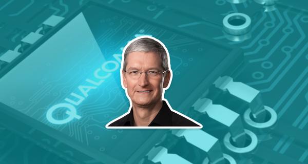 5G-nachtmerrie Apple voorbij door staken strijd met Qualcomm - WANT