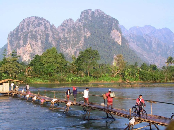 Waarschijnlijk het mooiste natuurgebied van Laos.