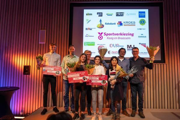 Winnaars sportverkiezing Kaag en Braassem