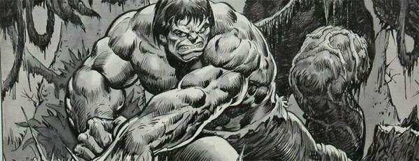 Jim Starlin - Hulk Original Comic Art