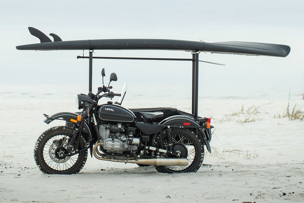 BOTE is giving away a URAL motorcycle + a Blackout paddleboard