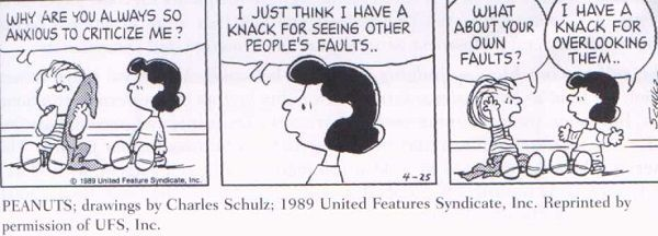 This old one from Schulz sums it up rather... comically 😂