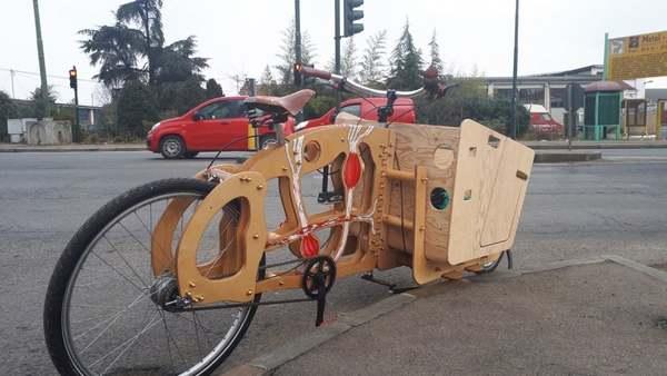 Torino, i ladri biciclette rubano persino un prototipo ecologico in legno da presentare in Germania