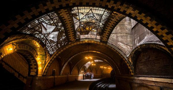 Wie die New Yorker U-Bahn vor 115 Jahren ausah