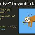 Native lazy loading and js-based fallback with vanilla-lazyload 12