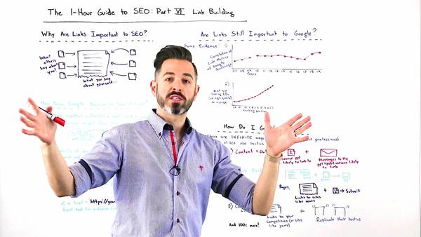 The One-Hour Guide to SEO: Link Building - Whiteboard Friday - Moz