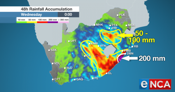 WATCH: More heavy rains expected | eNCA