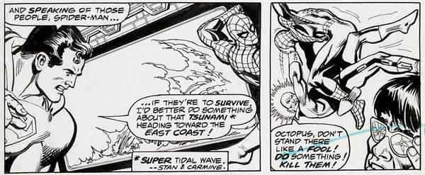 Ross Andru - Superman/Spider-Man Original Comic Art