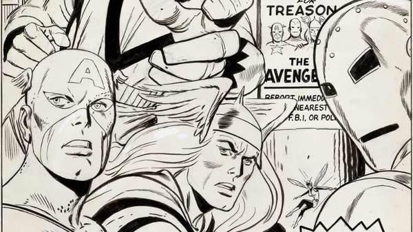 Don Heck - Avengers Original Comic Art