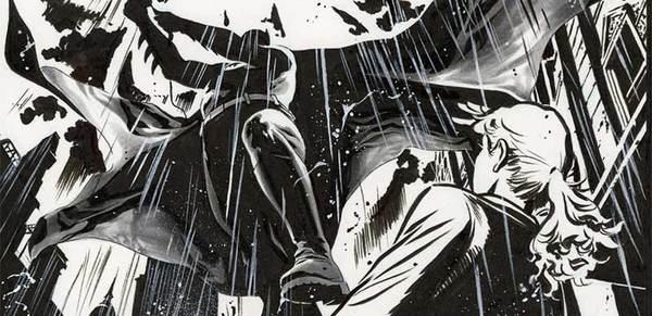 JH Williams - Batman Original Comic Art