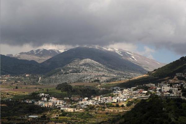 De Golan Hoogvlakte (foto: Reuters)