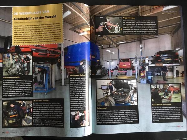 Autobedrijf van der Wereld in vakblad AMT