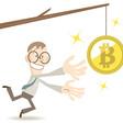 Wordt het gouden kruis van de Bitcoin een loden last? - WANT