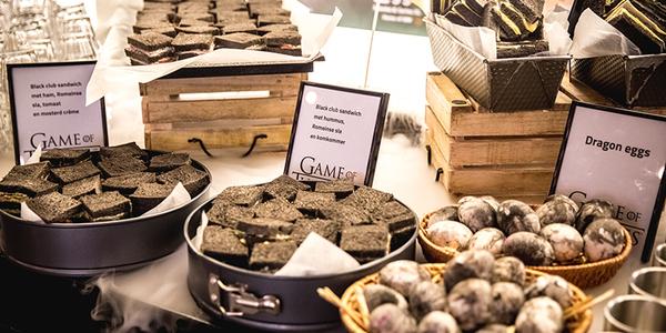 Catering in de stijl van Game of Thrones - EventGoodies