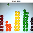 I found two identical packs of Skittles, among 468 packs with a total of 27,740 Skittles