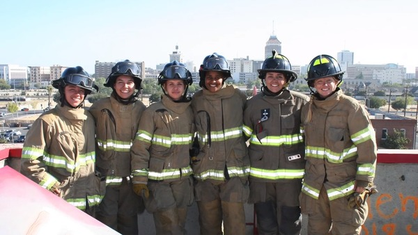 Only six firefighters in Fresno are women. Female chief hopes to change that with girls camp | The Fresno Bee