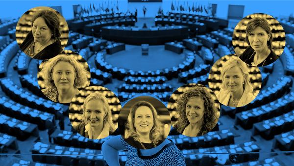 Zeven van de tien Nederlandse vrouwelijke Europarlementariërs