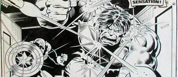 Dan Adkins - Incredible Hulk Original Comic Art