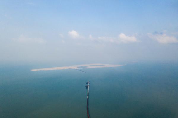 In Fotos: Wo massiv mit Sand gebaut wird – und wo er stattdessen fehlt
